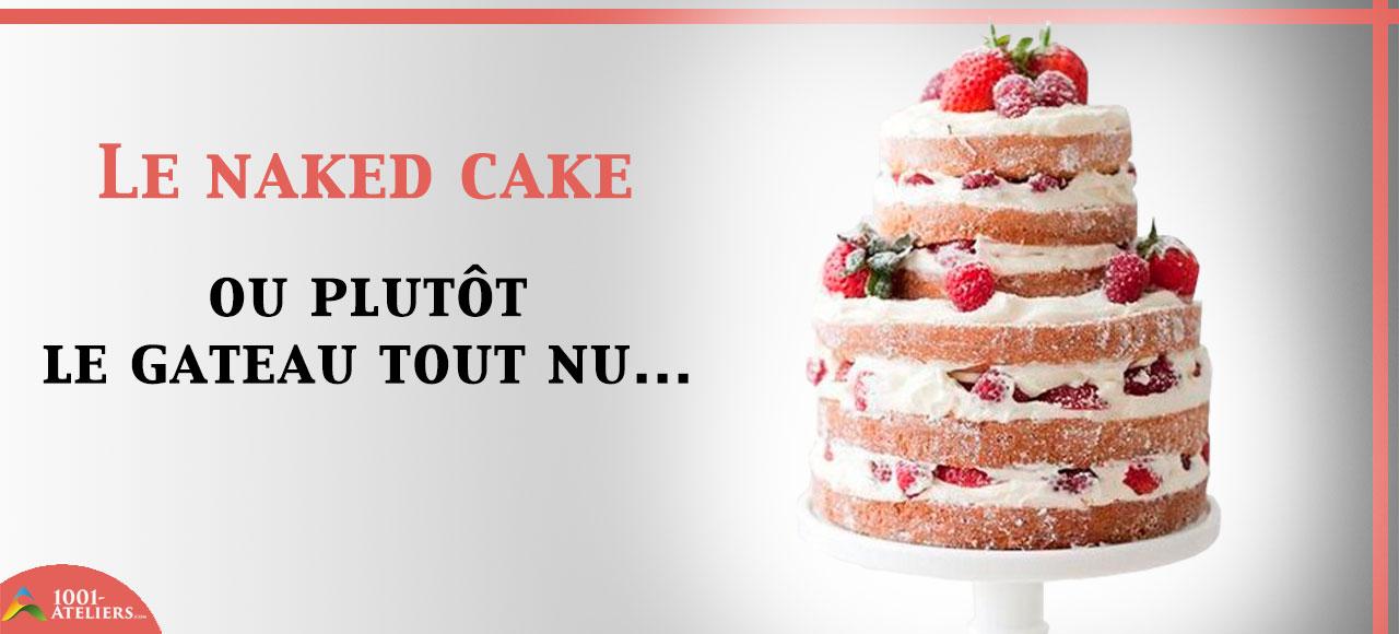 Naked cake pistache & marshmallows sans gluten | Qui a